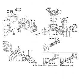 Hypro 9910-650671 BlueFlex Dampener Diaphragm for D30 D50 D70
