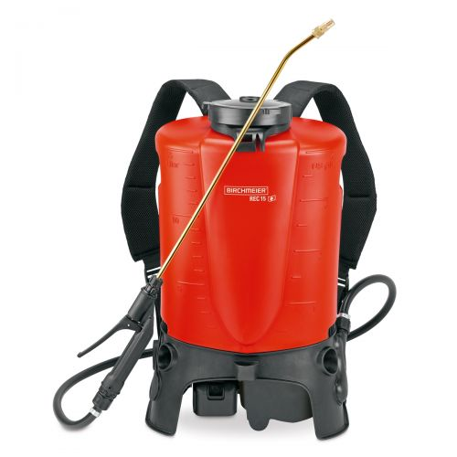 The 18V Li-Ion battery allows you to spray up to 56 US gallons on a single charge without interruption.
