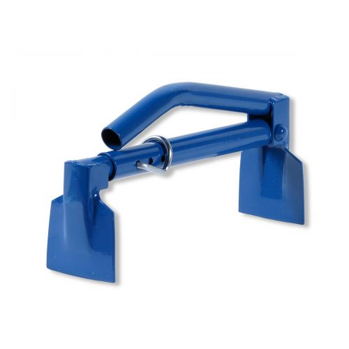"The Wall Unit Tongs from Bon Tool spacing is adjustable for 12 1/2"" to 17""."
