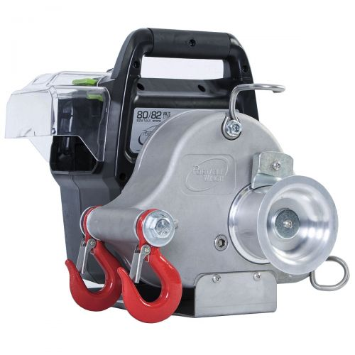 The PCW3000-LI Portable Winch is the world's first battery-powered portable capstan winch.