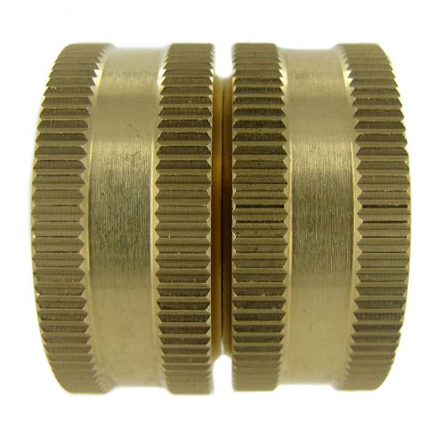 Brass Swivel Coupling.
