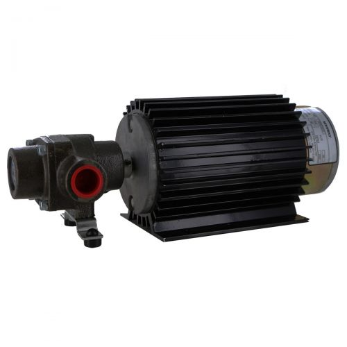 Hypro 4001N-E2H Ni-Resist 4 Roller Pump on 1600 RPM electric motor.
