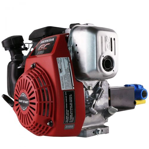 Hypro 4101C Roller Pump with Honda GC160 Gas Engine Assembly.