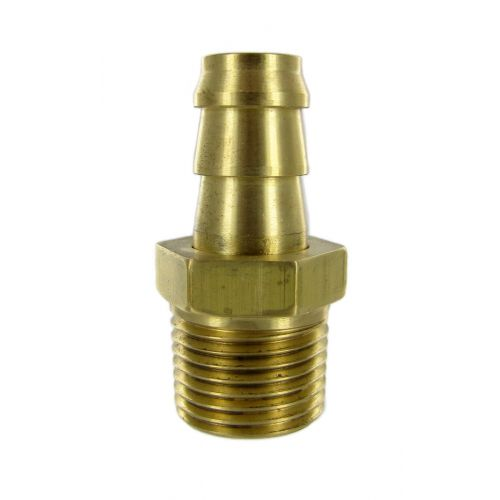Easy Turn Hose Barb Swivel - Brass