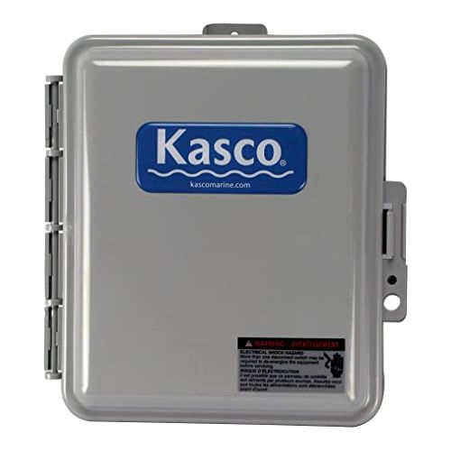 Controls at what time and temperature the Kasco de-icer or water circulator turns on.