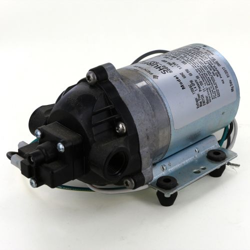 Shurflo 8000-533-236 Diaphragm Pump with 115 VAC electric motor and 60 psi demand switch.