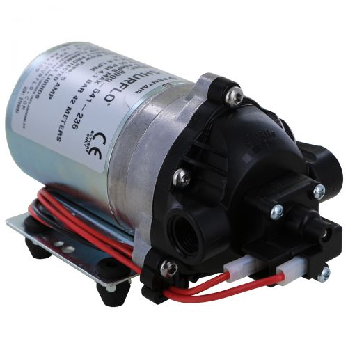 Shurflo 12V Lawn and Garden Sprayer Pump perfect for low flow and low pressure applications.
