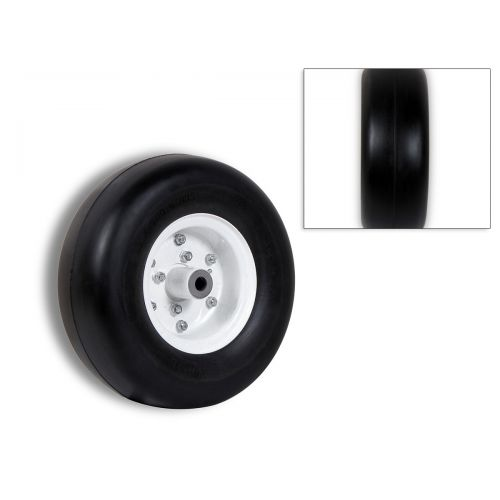 975- 13 inch Caster Wheel with Smooth Tread can handle up to 375 lbs.