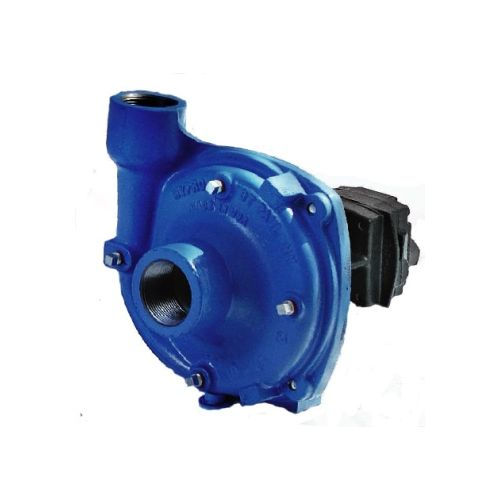 Hypro 9303 Series Pump with hydraulic motor to drive it.