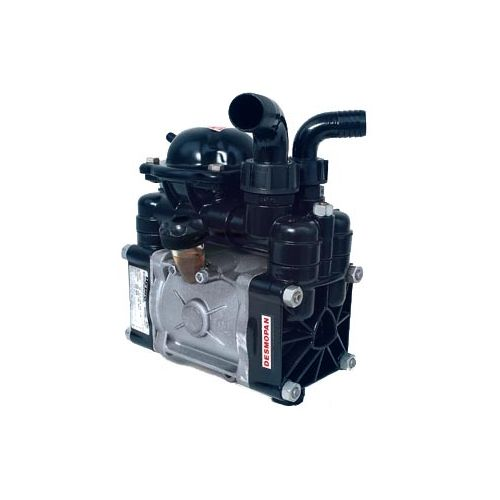 D70 Diaphragm Pump by Hypro, shown here without the gear reduction.