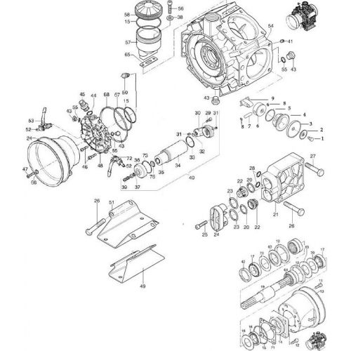 Complete parts list for the now discontinued Hypro D1516 Diaphragm Pump.