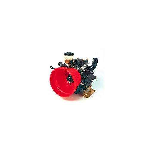 Hypro D813 Diaphragm Pump shown. See below for other components.