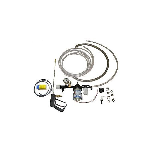 This 12 Volt Power Spray Kit with Regulator comes UNASSEMBLED.