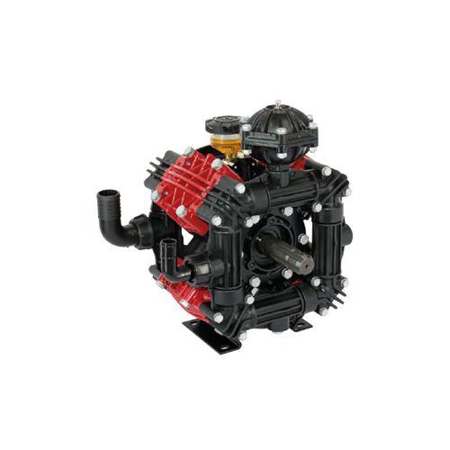 "Udor Zeta 170/CC Diaphragm Pump with dual 1-3/8"" male six-spline PTO shaft."