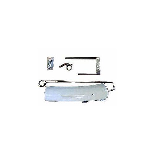 The 92455 Manual Deflector Kit for Lesco High Wheel Spreaders.