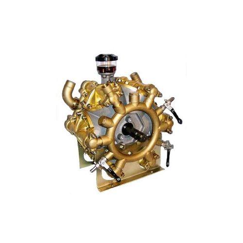 Udor Beta 240/CC Six-Diaphragm Pump.