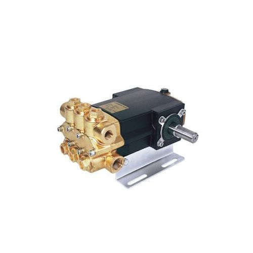 Forged brass head 2400B-P Series Triplex Plunger Car Wash Pumps by Hypro.