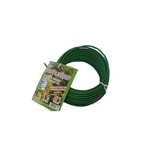 Supple Grip Soft Tie is available in 50' rolls.  Use this garden tool to train plants, lash stakes, or fasten decorations.