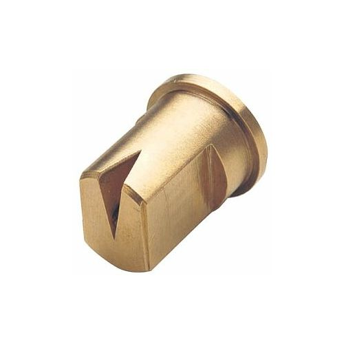Machined in brass, unique 80 degree spray angle.