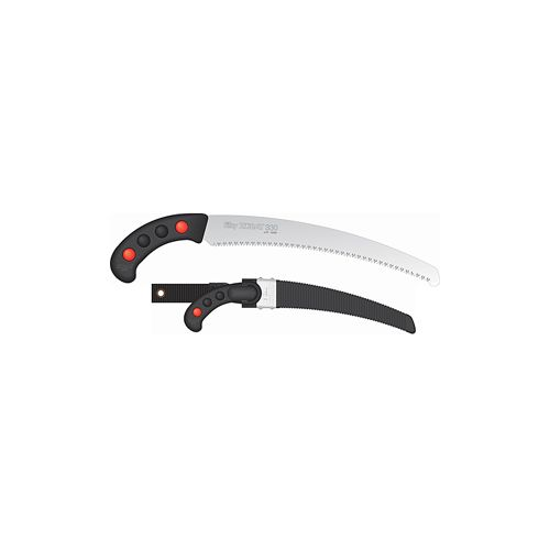 The Zubat 330 Silky Hand Saw is good for all pruning tasks.
