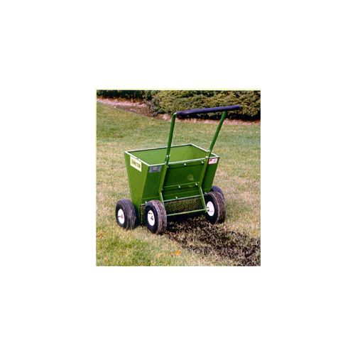 Apply rich organic topdressing soil with the Mini-Topper.