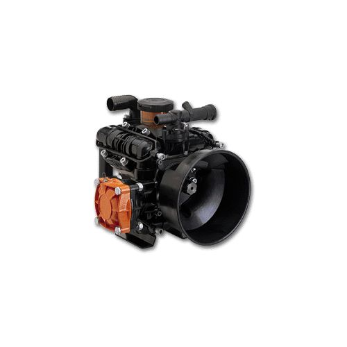 Comet BP171 Low Pressure Four-Diaphragm Pump for agricultural spraying.