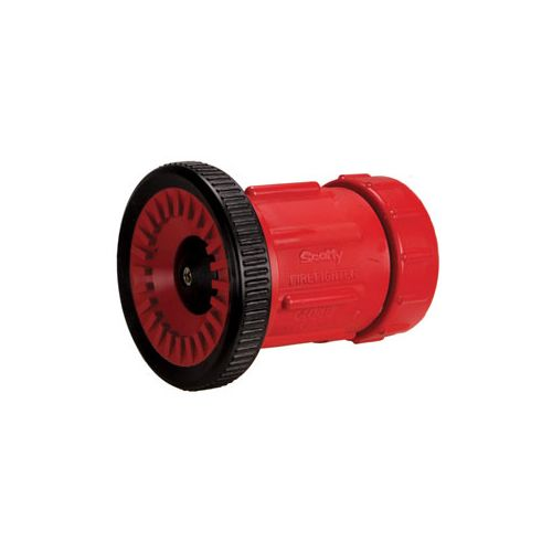 The Foam Fog / Straight Stream Nozzle with Twist-to-Shut-off comes in different flow rates.