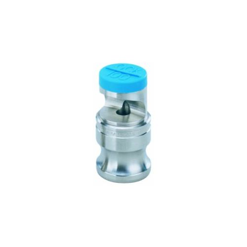 QCKSS100 Quick Floodjet Nozzle stainless steel with VisiFlo color coding.