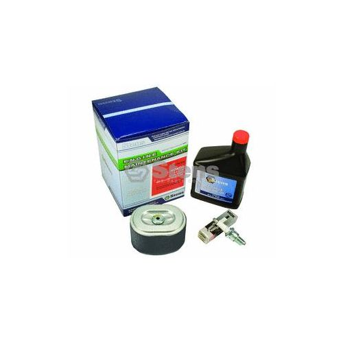 Maintenance Kit for Honda Engines: includes air filter combo, spark plug and 4-cycle engine oil.