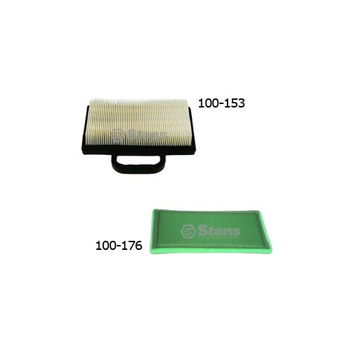 100-153 Air Filter and 100-176 Pre Filter for Briggs and Stratton Engines.