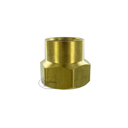 Solid brass coupling female hose to  female hose.