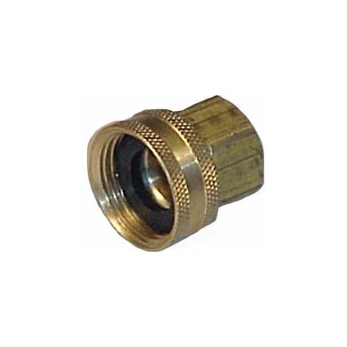 Female Hose to Female Pipe - Brass.
