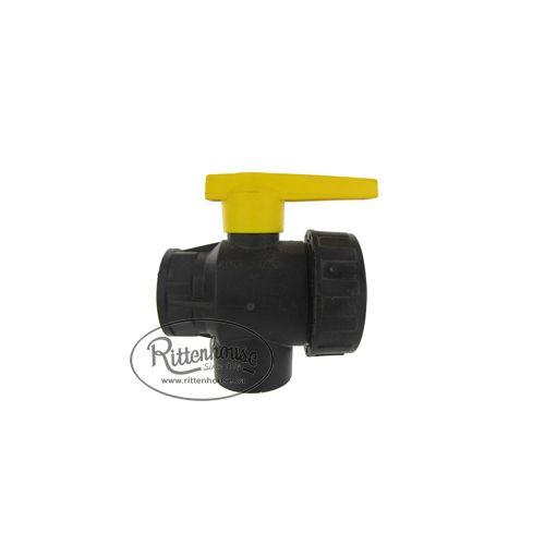Arag polypropylene ball valve.