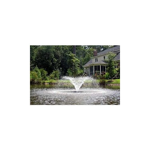 The Kasco 3/4 HP Aerating Fountain.
