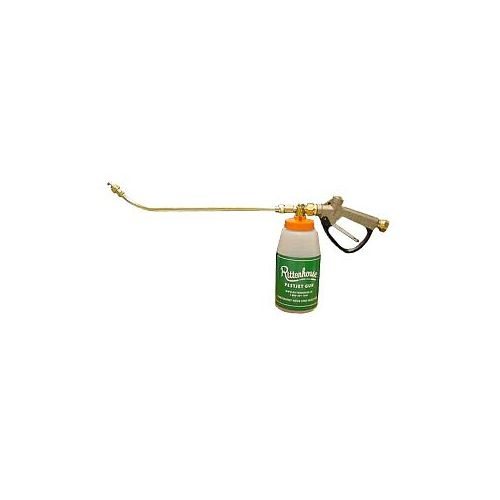 Pestjet Hose End Injector is designed for lawn care professionals to apply Fiesta, Organo-Sol, Sevin, RoundUp, 3-way herbicides, insecticides, fungicides, horticultural vinegars, Deltamethrin, and Nematodes.