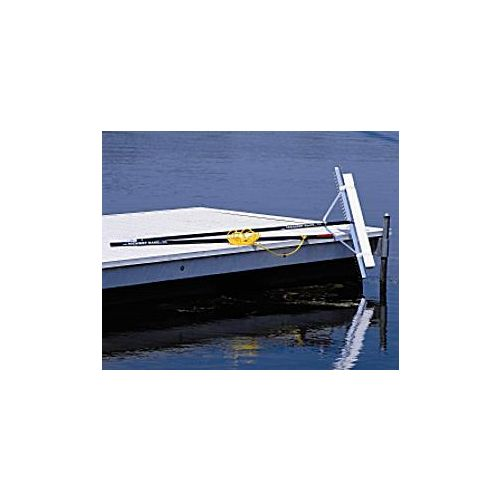 Skim and remove floating vegetation in lakes.