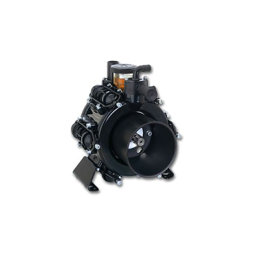 Comet BP205 six diaphragm pump for low pressure agricultural spraying applications.