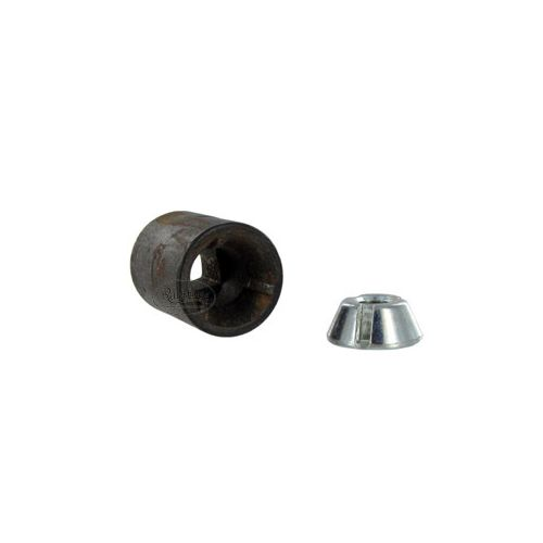 Theft resistant nut & tool to tighten / install / remove your nuts (sold separately).