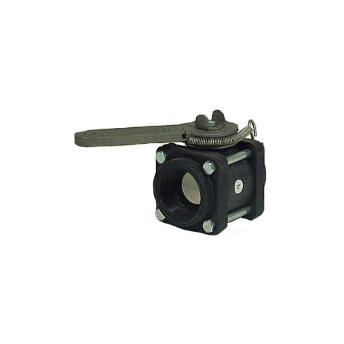 Ratchet handle ball valves:  These valves can be quickly opened and closed with a rope or lanyard.