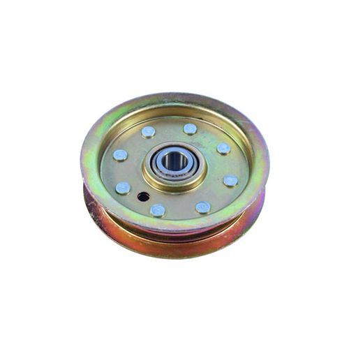 We carry flat idlers for Dixie Chopper Mowers.