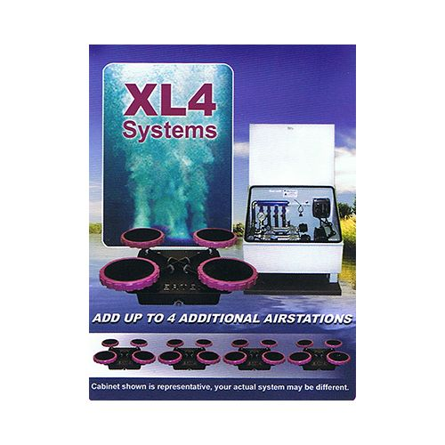 The XL4 Aeration System by Vertex. For depths of 16 ft. and deeper.