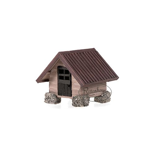 "The Woodland Cottage measures 5.5"" long x 5"" wide x 5.25"" height."