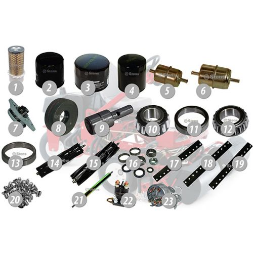 Common Replacement Parts for Toro Greensmaster 3, 3000 & 3100 mowers.