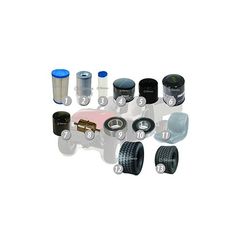 Common replacement parts for your Toro Workman Series models.