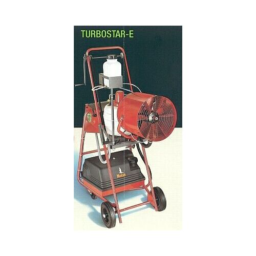 An electrical cold fogging machine by Swingtec. The Turbostar Electric Cold Fogger.