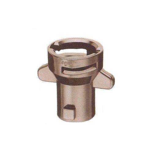 Hardi sprayer nozzle adapter, to change to Teejet nozzles (also known as Spraying Systems).