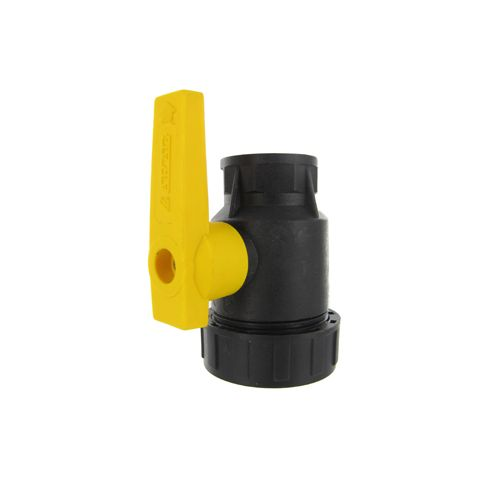 Ball Valve - Single - Poly:  These Arag Poly ball valves are glass filled for chemical resistance.