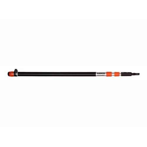 Bahco ATP-110-210 Aluminum Telescoping Pole is very lightweight. Comfortably prune high height branches on trees with the Pole Pruning Saw (sold separately).
