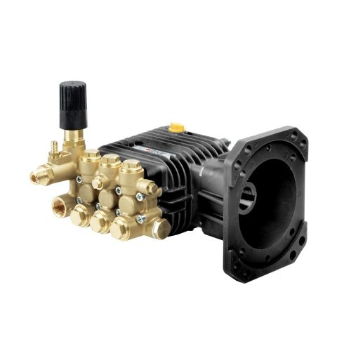 "Comet AWD-K Series Industrial Triplex Plunger Pumps with 1"" hollow shaft."