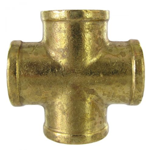 Forged Brass Cross pipe fittings:  available in a range of sizes.